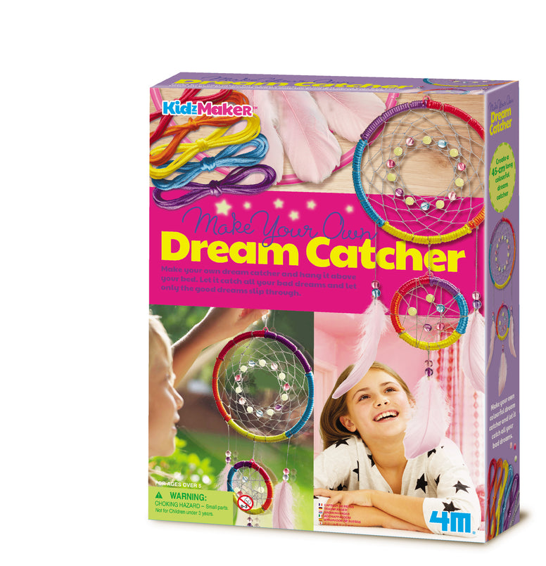 4M Kidzmaker - Make Your Own Dream Catcher Craft Kit