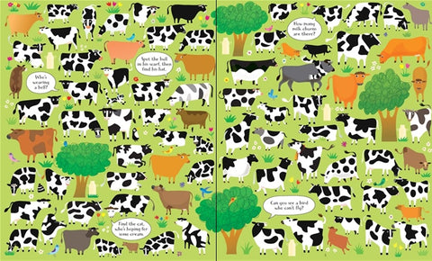 Farm Picture Puzzle Book - Usborne
