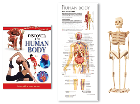 Discover Human Body Educational Tin Set