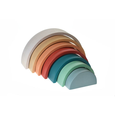 Calm & Breezy Wooden Stacking Rainbow - Terracotta