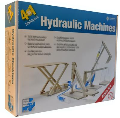 Hydraulics Machine Kit 4-in-1 Mini Machines Pack
