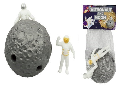 Astronaut and Moon Squishy Ball