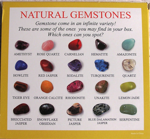 Natural Gemstone Collection Set