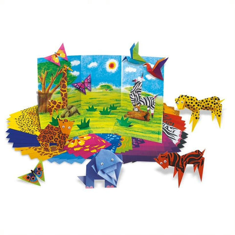 4M Little Craft - Origami Zoo Animals