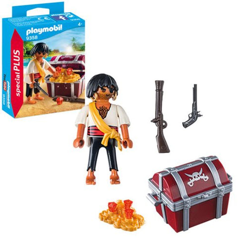 Playmobil - Pirate with Treasure Chest (9358)