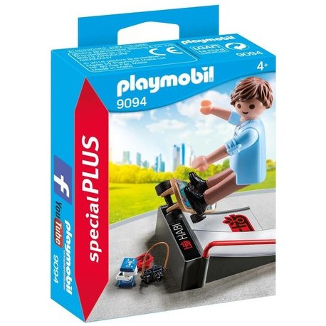 Playmobil - Skateboarder with Ramp  (9094)