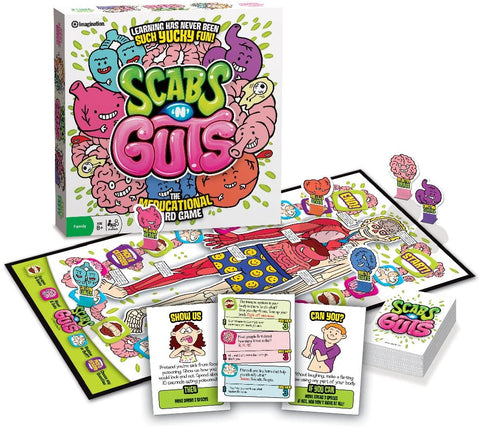 Scabs N Guts Board Game