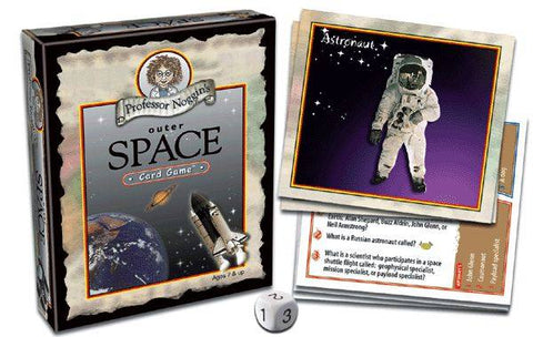Professor Noggin's Outer Space Card Game