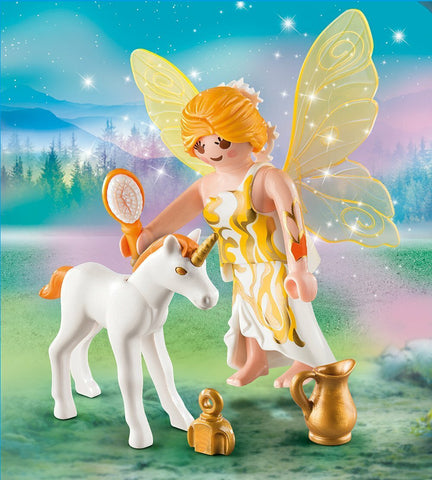 Playmobil - Sun Fairy with Unicorn Foal (9438)