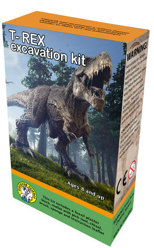 T-Rex Dinosaur Excavation Kit