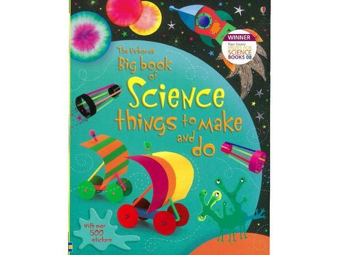 Big Book Of Science Things to Make and Do - Usborne