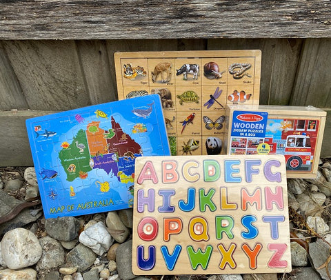Wooden Puzzles Pack