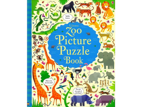 Zoo Picture Puzzle Book - Usborne
