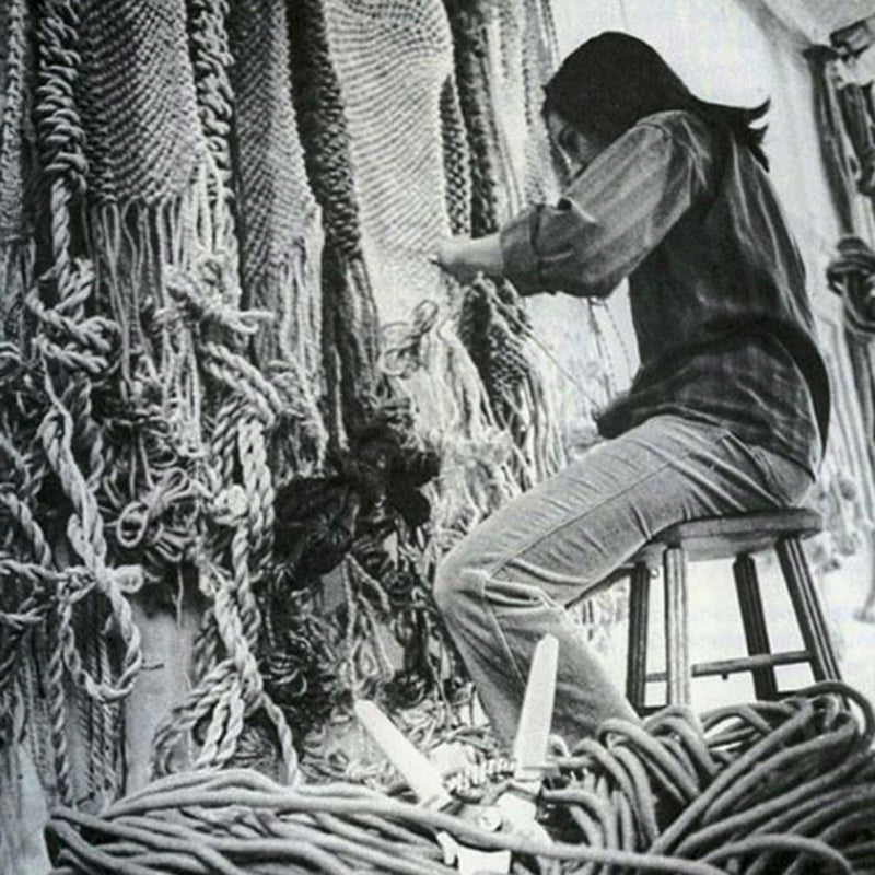 Loomes Muse: Francoise Grossen Textile Artist