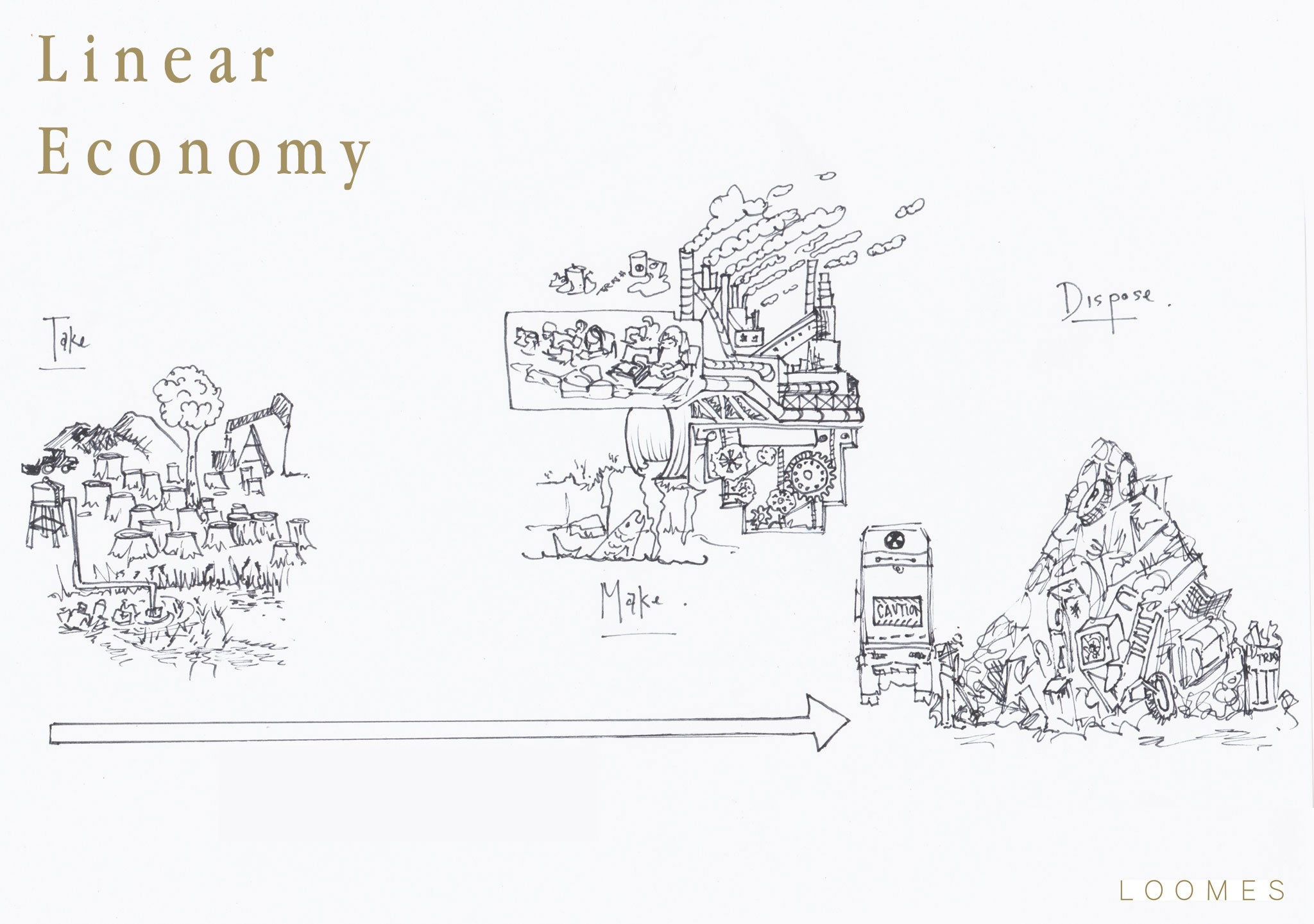 Linear Economy Fashion Industry