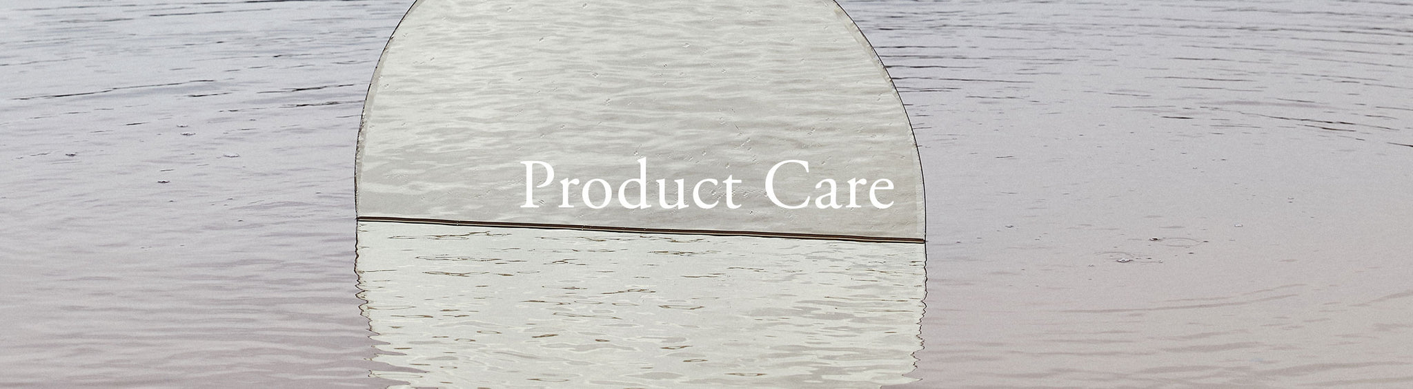 Product Care Header