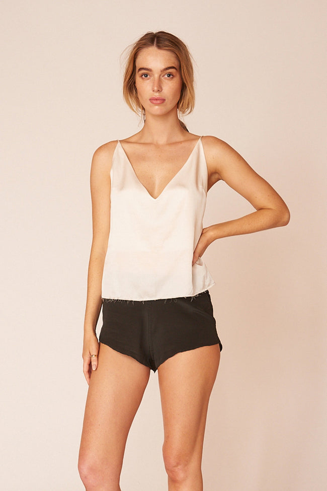 Minimalist & Sustainable White Klimt Cami Top