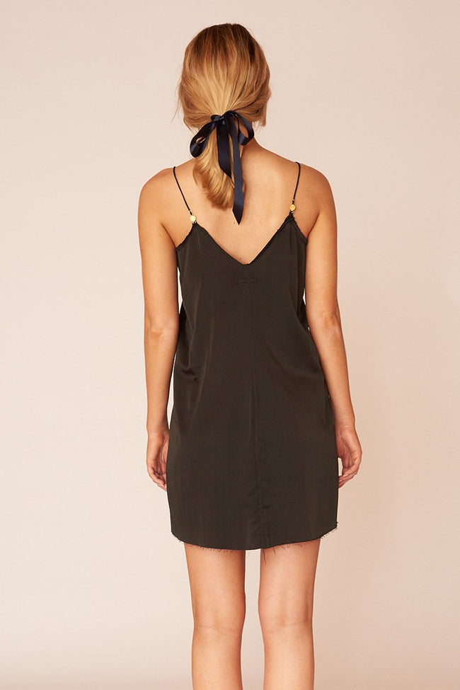 The Pablo Mini Dress - Ebony