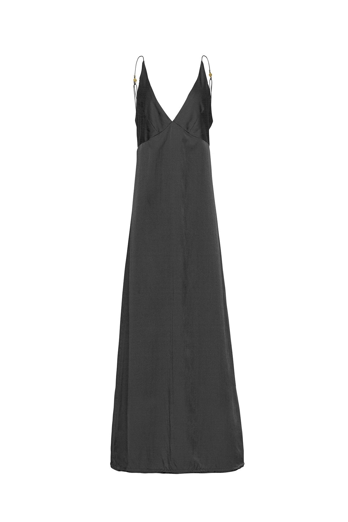 The Renoir Full Length Dress - Ebony