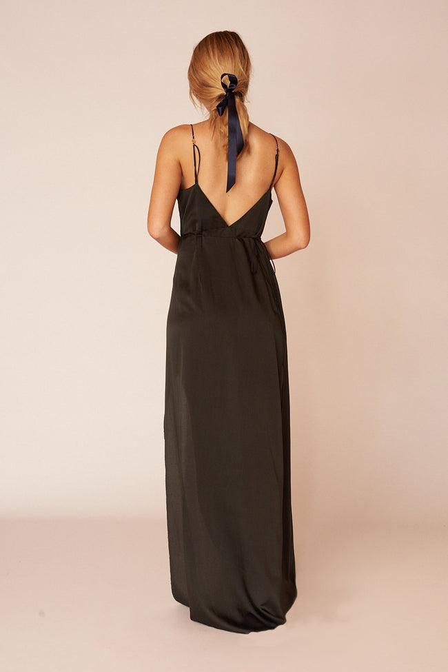 The Matisse Full Length Dress - Ebony