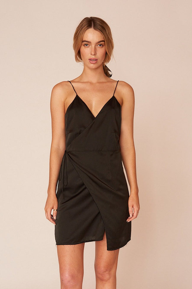 The Matisse Mini Dress - Ebony