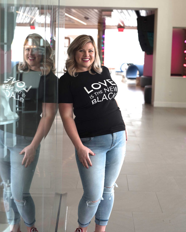 Love Is The New Black Tee