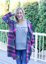Have Courage Long Sleeve Top
