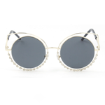 """Chesire"" Cat Eye Sunglasses with Rhinestones 2019 Collection - SeeThru™"