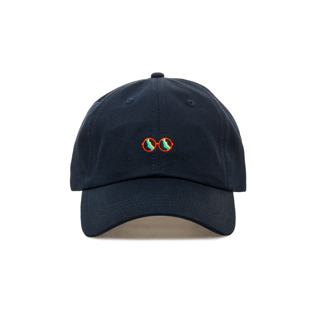 Embroidered Premium Glasses Dad Hat - Baseball Cap with Adjustable Closure - SeeThru™