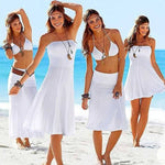 4-in-1 Strapless Beach Dress - Assorted Colors - SeeThru™
