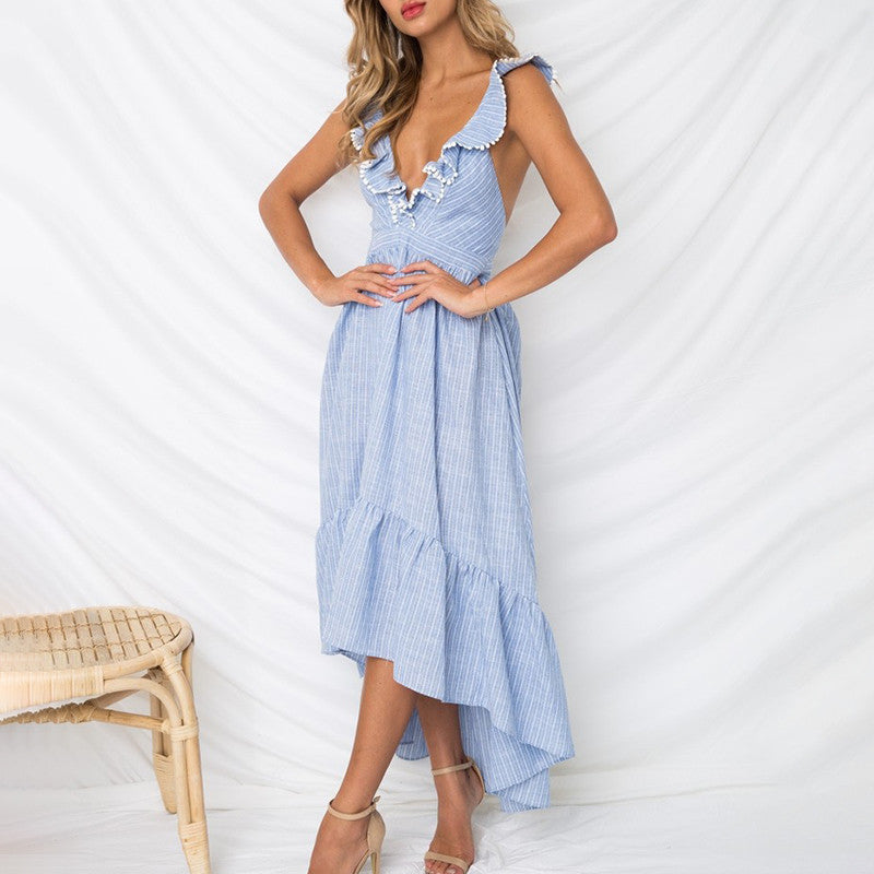Sky Blue Summer Dress 2019 Collection - SeeThru™