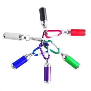 Mini-Flashlight LED Keychains (Pack of 6) - SeeThru™