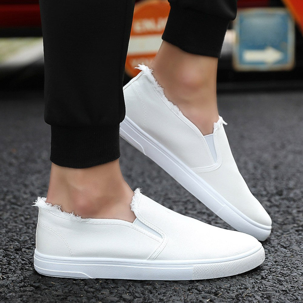 Canvas Slip On Shoes - SeeThru™