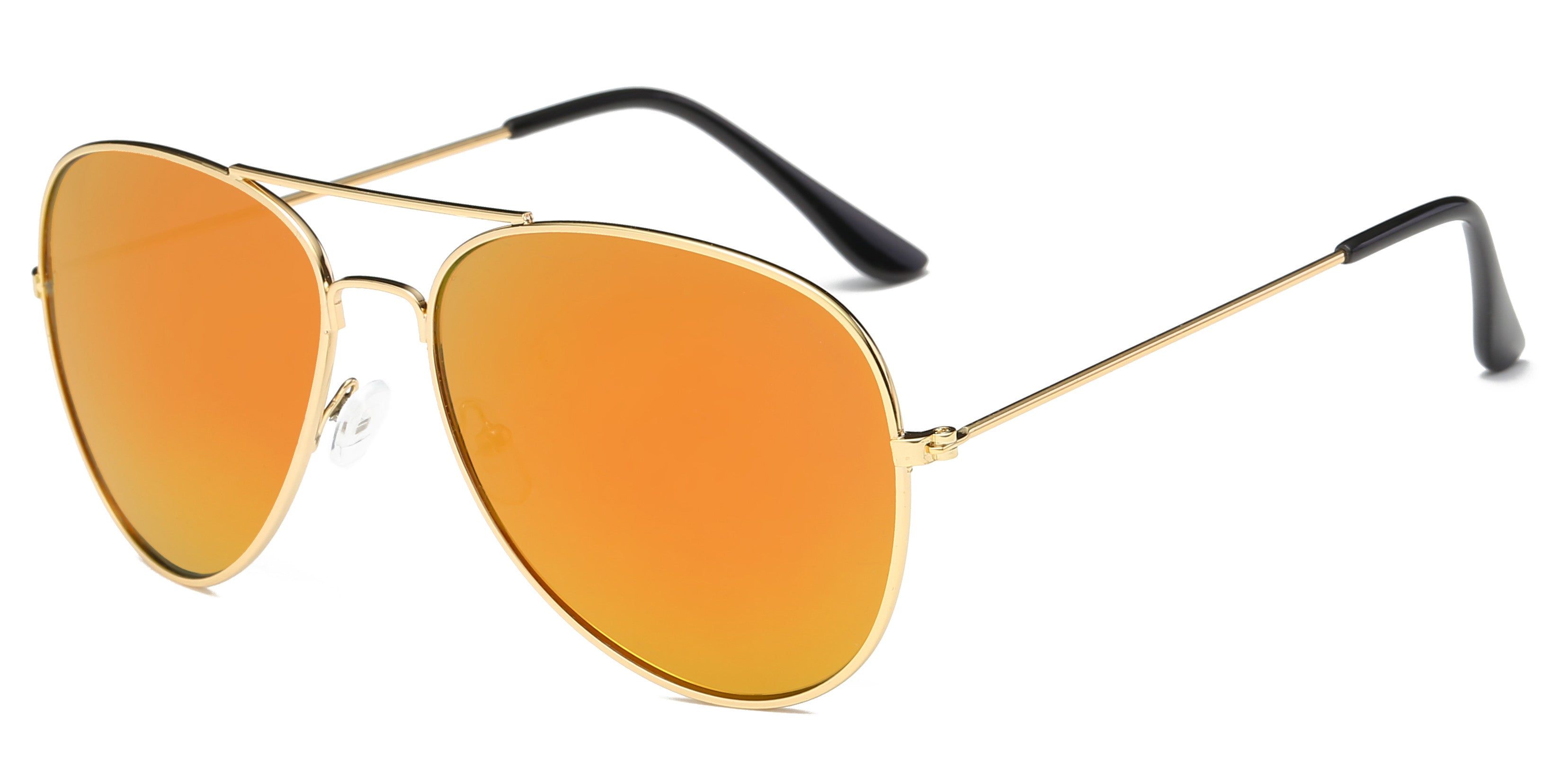 Gold Flyboy Aviator Shades 2019 Collection - SeeThru™