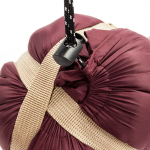Ultra Thin & Lightweight Sleeping Bag (Wine Red) - SeeThru™