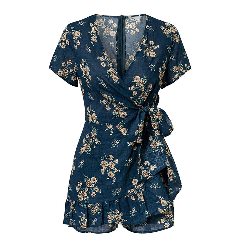 Floral Print V-Rompers 2019 Collection - SeeThru™
