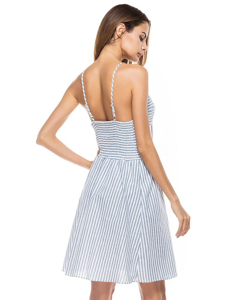 Southern Belle Summer Dress (Striped) 2019 Collection - SeeThru™