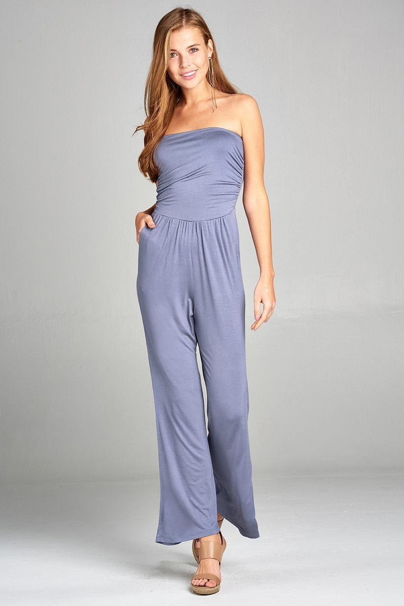 Tube Top Jumpsuit - Blue Moon 2019 Collection - SeeThru™