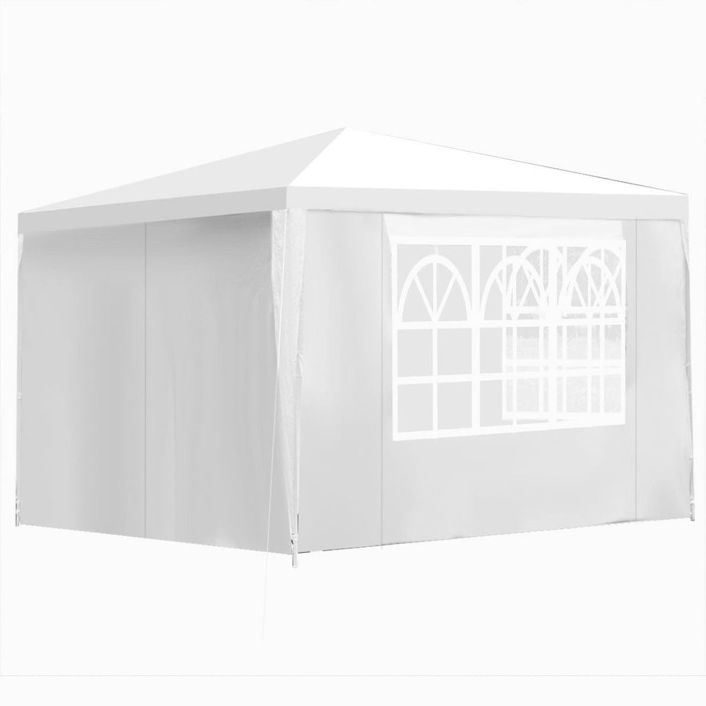 10' x 10' Outdoor Pop-Up Canopy with Walls