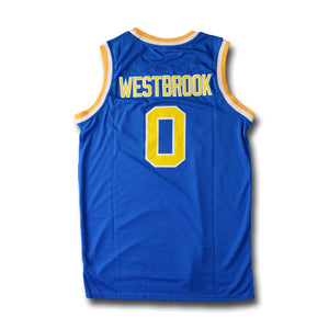 Westbrook #0 UCLA Blue Basketball Jersey - SeeThru™