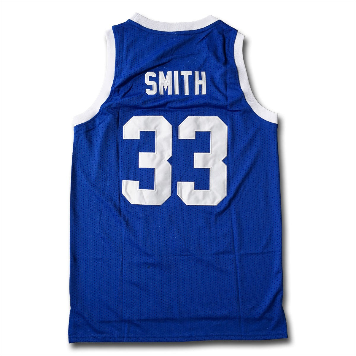 Will Smith #33 MTV Music Television Blue Basketball Jersey - SeeThru™