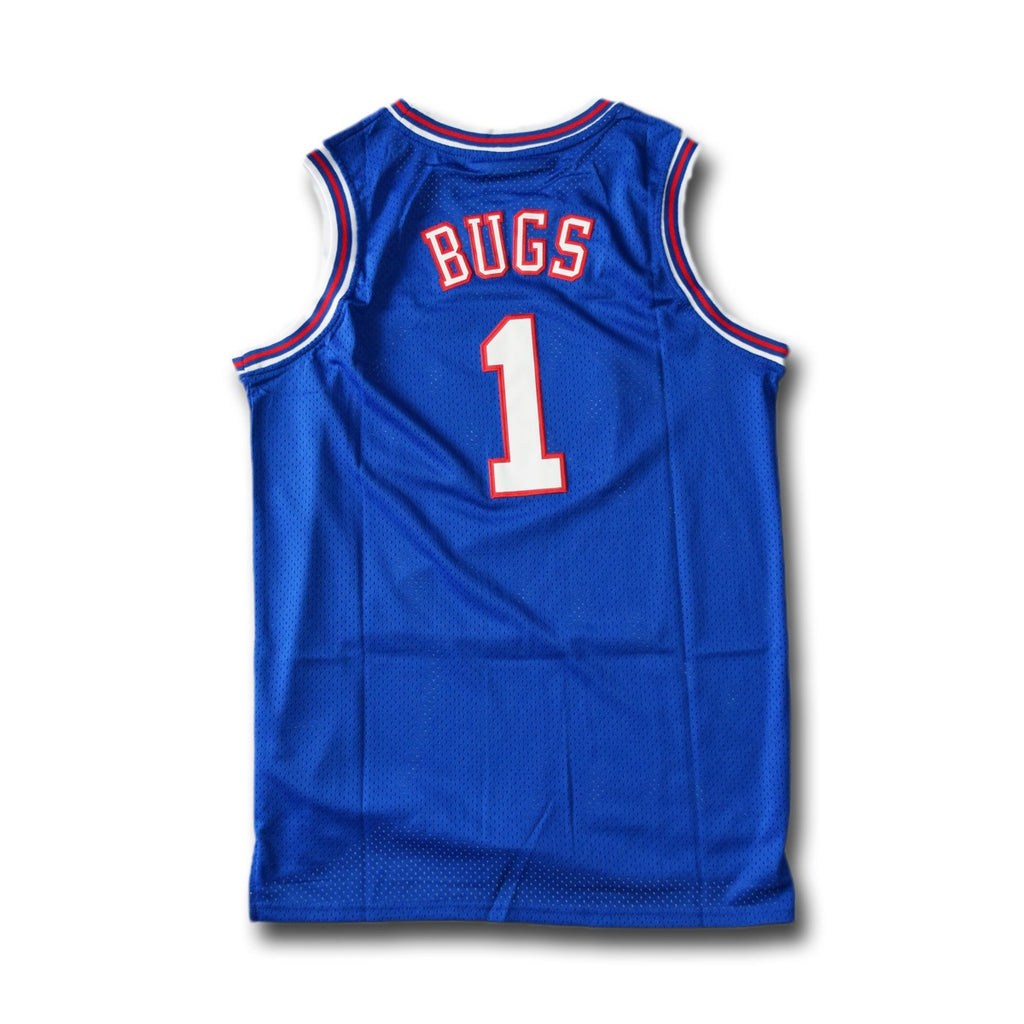 Bugs #1 Tune Squad Blue Basketball Jersey - SeeThru™