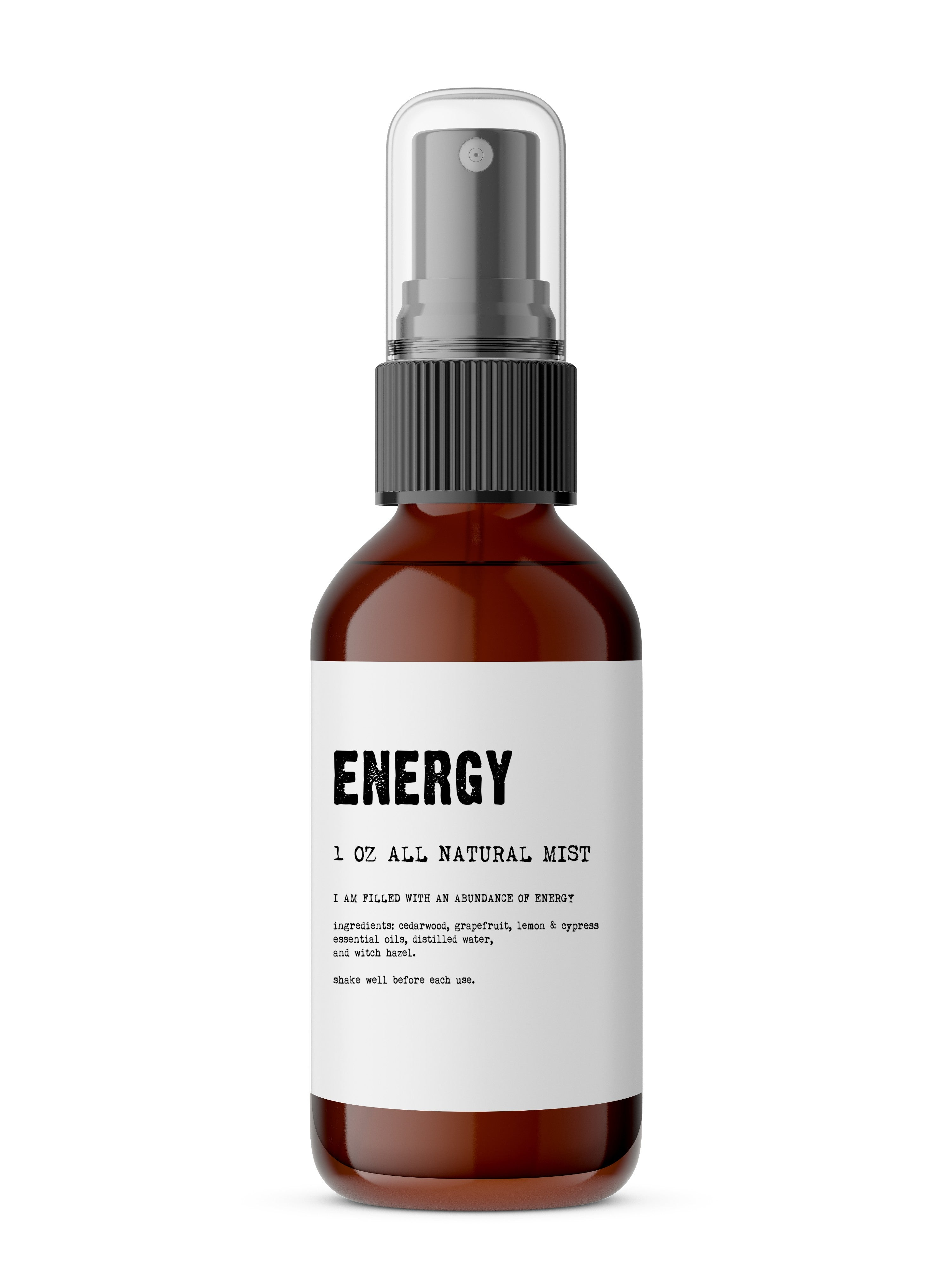 Organic Energy Boost Body Mist - SeeThru™