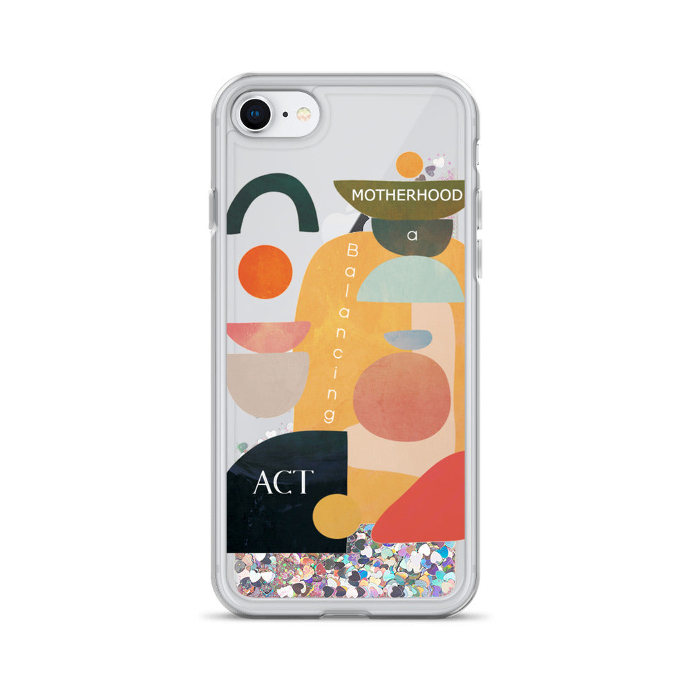 Liquid Glitter Phone Case MOTHERHOOD - Seed Kids Clothing