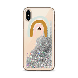 Liquid Glitter Phone Case Rainbow - Seed Kids Clothing