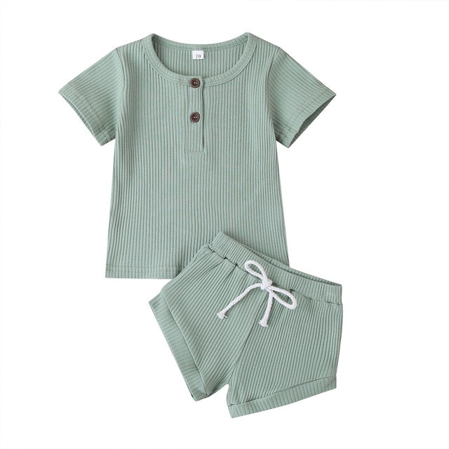 Ribbed Jake set - Seed Kids Clothing