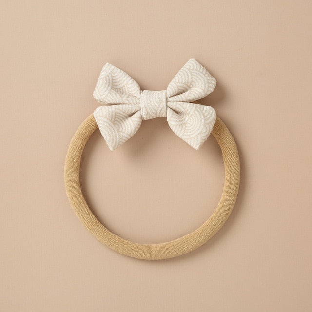 Birdie Bows (Newborn Soft Band) - Seed Kids Clothing