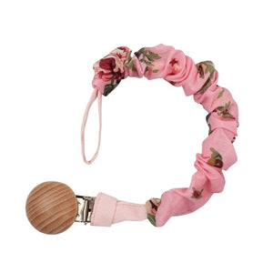 Sweet Pea Scrunchie Paci Clip - Seed Kids Clothing