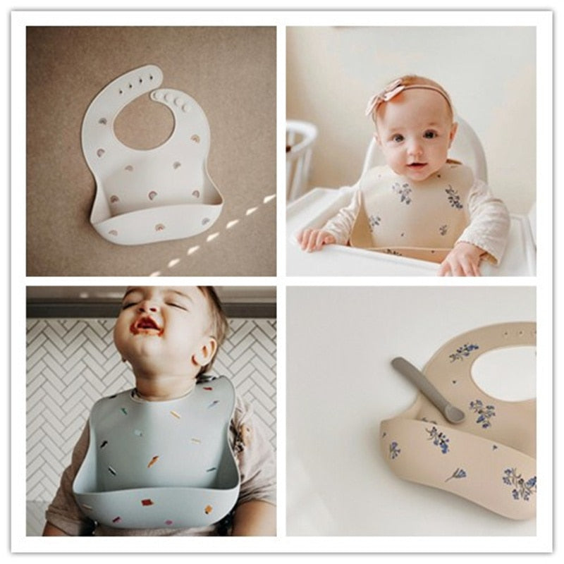 Sunshine Bibs (Silicone) Meal time - Seed Kids Clothing