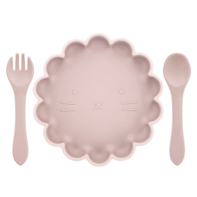 Silicone Baby set ( Meal Time) - Seed Kids Clothing